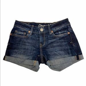 AEROPOSTALE Denim Summer Shorts Size 0 GUC